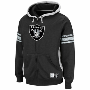 Oakland Raiders Intimidating V Hood - Click to enlarge