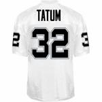 Oakland Raiders Jack Tatum Reebok Authentic White Jersey
