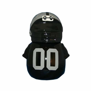 Oakland Raiders Jersey Cookie Jar - Click to enlarge