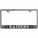 Oakland Raiders Jersey License Frame