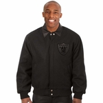 Oakland Raiders JH Design Wool Jacket
