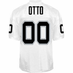 Oakland Raiders Jim Otto Reebok Authentic White Jersey