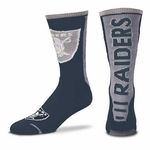 Oakland Raiders Jump Curve Sock
