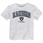 Oakland Raiders Juvenile Bold Arch Tee