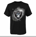 Oakland Raiders Juvenile Chrome Logo Tee