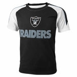 Oakland Raiders Juvenile Fan Short Sleeve Tee