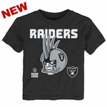 Oakland Raiders Juvenile Helmet Head Tee