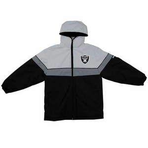 Oakland Raiders Juvenile Midweight Parka - Click to enlarge