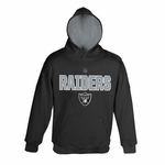 Oakland Raiders Juvenile Performance Hood