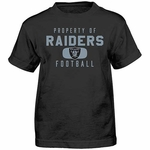 Oakland Raiders Juvenile Property of Tee