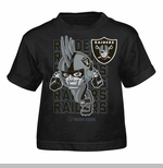 Oakland Raiders Juvenile Raider Rusher Tee