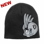Oakland Raiders Juvenile Raider Rusher Uncuffed Knit Hat