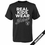 Raiders Juvenile Real Kids II Tee