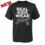 Oakland Raiders Juvenile Real Kids II Tee