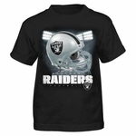 Oakland Raiders Juvenile Reflection Tee