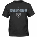 Oakland Raiders Juvenile Shatter Mark Tee