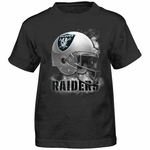 Oakland Raiders Juvenile Smash Mouth Tee