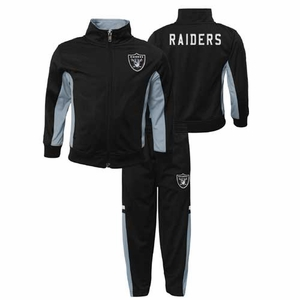 Oakland Raiders Juvenile Stacked Track Set - Click to enlarge
