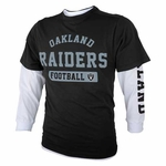 Oakland Raiders Juvenile Three in One Tee