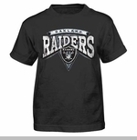 Oakland Raiders Juvenile Totally Rad Tee