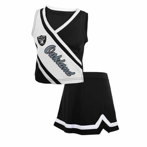 Oakland Raiders Juvenile Two Piece Cheer Set - Click to enlarge