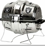 Oakland Raiders Keg Propane Barbecue Grill