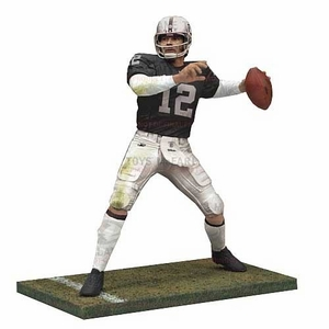 Oakland Raiders Ken Stabler McFarlane Figure - Click to enlarge