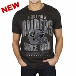 Oakland Raiders Kick Off Helmet Tee