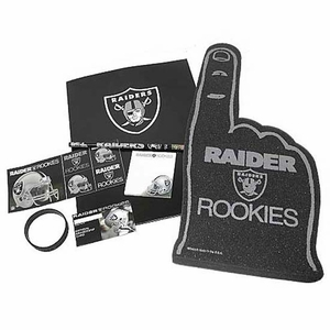Oakland Raiders Kid's Package - Click to enlarge