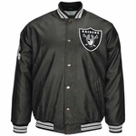 Oakland Raiders Knuckle Faux Leather Jacket