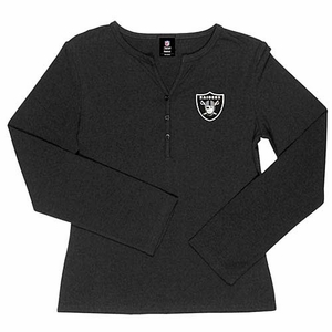 Oakland Raiders Kona Henley - Click to enlarge