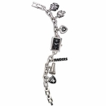 Oakland Raiders Ladies Charm Watch