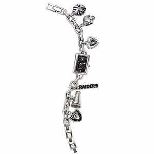 Oakland Raiders Ladies Charm Watch - Click to enlarge