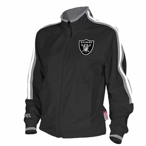 Oakland Raiders Thermabase Track Jacket - Click to enlarge