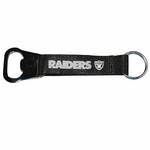 Oakland Raiders Lanyard Bottle Opener Keychain