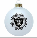 Oakland Raiders Large Ornament