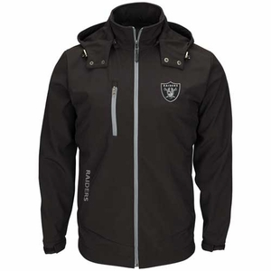 Oakland Raiders Lateral Soft Shell Jacket - Click to enlarge