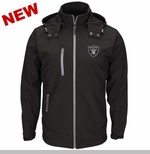 Oakland Raiders Lateral Soft Shell Jacket