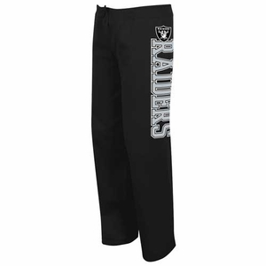 Oakland Raiders Lateral Spirit Black Pant - Click to enlarge