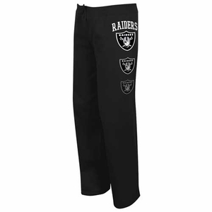 Oakland Raiders Lateral Spirit II Black Pant - Click to enlarge