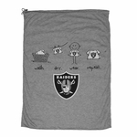 Oakland Raiders Laundry Bag