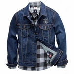 Oakland Raiders Levi's Denim Jacket