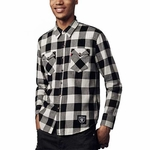 Oakland Raiders Levi's Men's Western Shirt