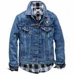 Oakland Raiders Levi's Women's Denim Jacket