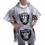 Oakland Raiders Lightweight Poncho