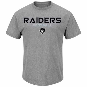 Oakland Raiders Line of Scrimmage IV Charcoal T - Click to enlarge