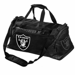 Oakland Raiders Locker Room Duffle