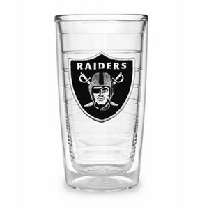 Oakland Raiders Logo 16oz Tervis Tumbler - Click to enlarge