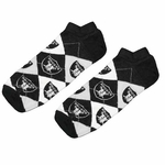Oakland Raiders Logo Argyle Sock 9-11
