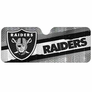Oakland Raiders Logo Auto Sun Shade - Click to enlarge